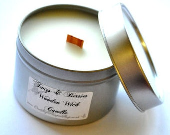 Mini Crackler Candle - choose your own scent.