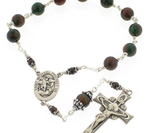Air Force  Army Coast Guard  Marines National Guard Navy Military Pocket Rosary