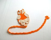 Handmade owl bookmark,unique,by Arzu