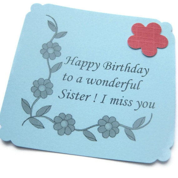 Birthday Cards For Sisters Message images – Birthday Greetings for Sister Message