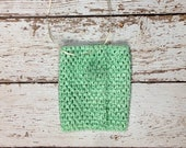 "6"" Crochet Tutu Tube Top - Mint"