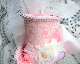 Marie Antoinette mini top hat