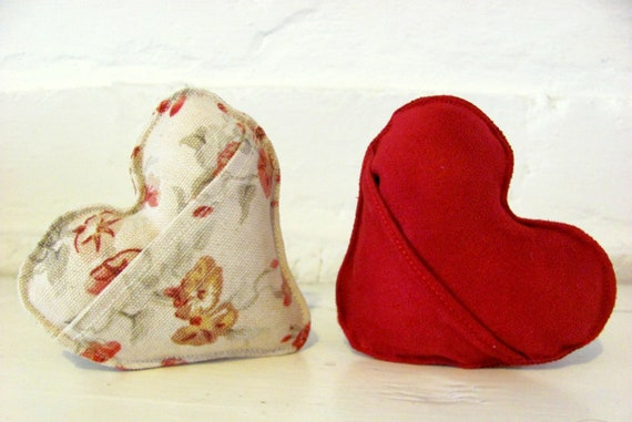 Small Love Note Pillow with Pocket