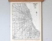 Chicago 1930s  Antique City Map