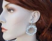 Wedding Rhinestone Earrings, Rhinestone Bridal Earrings, Bridal Stud Earrings, Statement Bridal Earrings, Rhinestone Earrings, Stud,ADRIAN