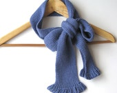 knit wool scarf violet - woman accessories - Fall Winter 2012-2013