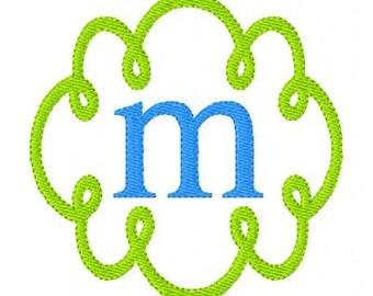 Swirly Doodle Embroidery Design, Machine Embroidery Monogram Font Design Set, Machine Embroidery Designs, Embroidery Font // Joyful Stitches