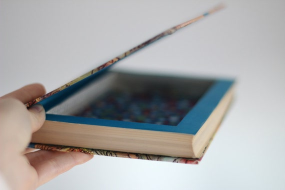 how to make a hollow book jewelry box