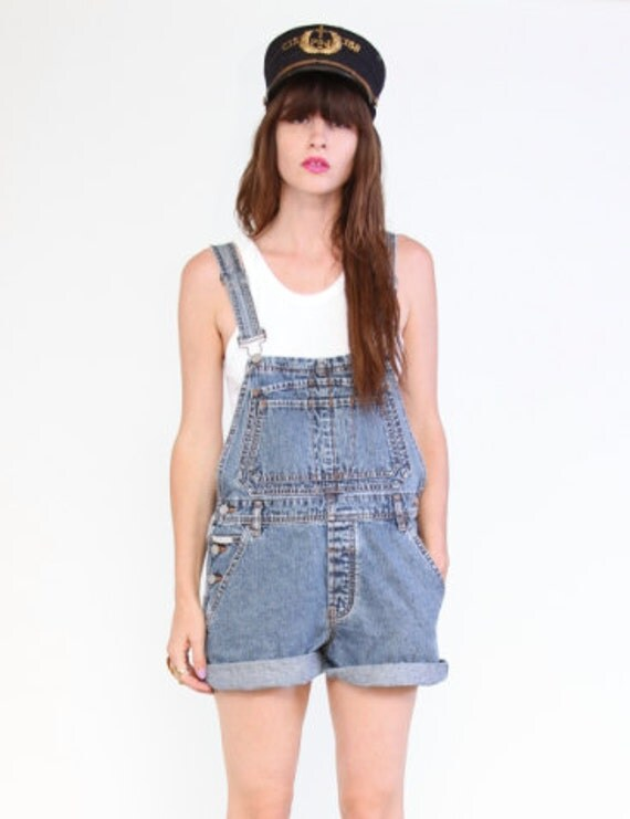 Denim overalls by Calvin Klein 90s CK