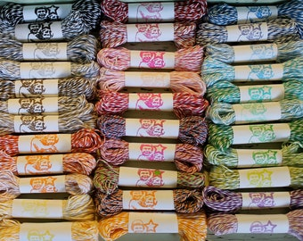FREE SHIPPING- 33 Colors Obsessive-Compulsive Bakers Twine Assortment - 15 yards of each