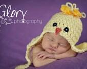 Newborn Chick Hat  Newborn Photo prop