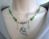 Fairy Necklace, celtic jewelry fairy jewelry fantasy jewelry victorian jewelry renaissance jewelry medieval jewelry edwardian necklace