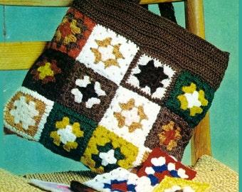 Vintage Crochet Pattern PDF140 Crochettes from WonkyZebra