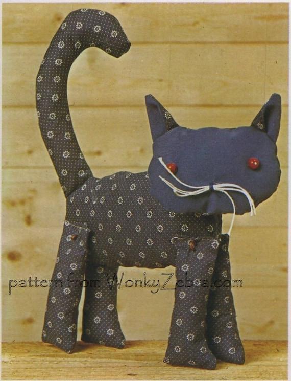 Puppet Toys Sewing Pattern 246 Vintage PDF from WonkyZebra