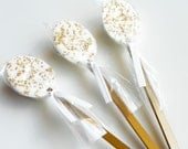 Chocolate Candy Spoons - Mocha Spoons