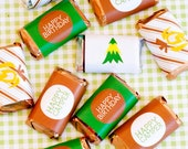 Camping Party PRINTABLE Mini Candy Bar Wrappers (INSTANT DOWNLOAD) by Love The Day