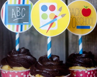 Back To School Party PRINTABLE (INSTANT DOWNLOAD) by Love The Day