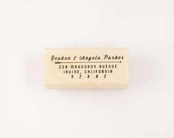 custom arrow address stamp