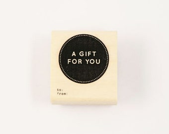 a gift for you stamp