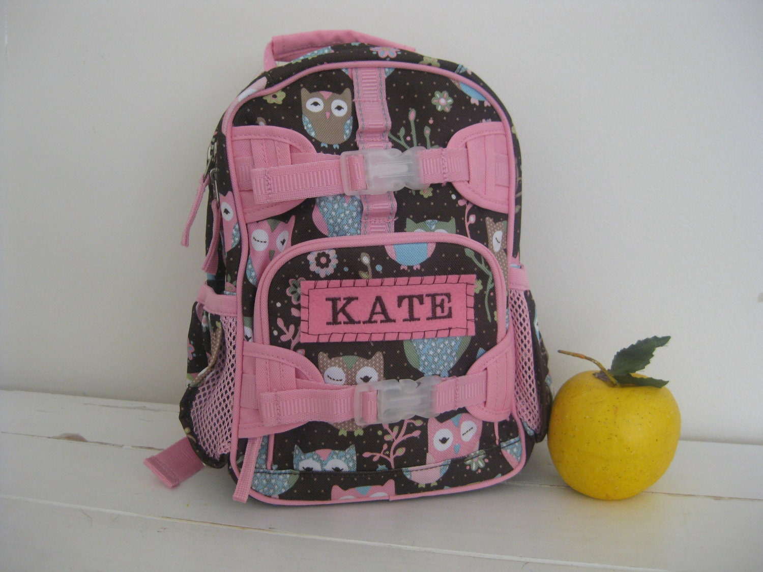 Baby Backpack With Monogram Pottery Barn Mini Size