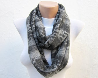 Infinity scarf,combed fabric scarf,circle Tube Loop scarf Necklace scarf