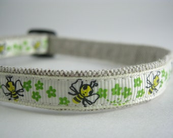"Bumble Bee organic cotton 1/2"" collar"
