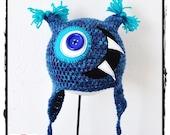 Crochet Hat  Big Mouth AV