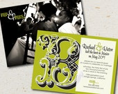 wedding reception invite- rachael
