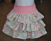 Ruffle skirt size 12-18 mos up to 8 yrs