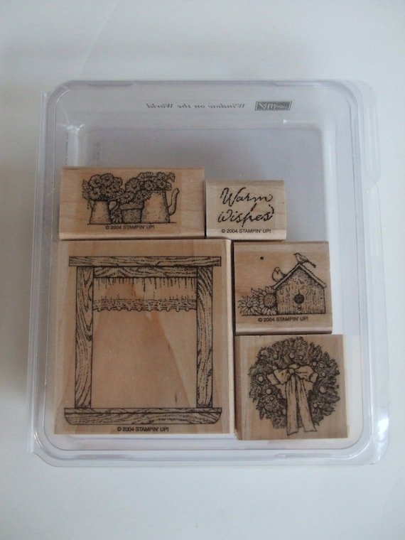 Window on the World Stampin Up Rubber Stamp Set