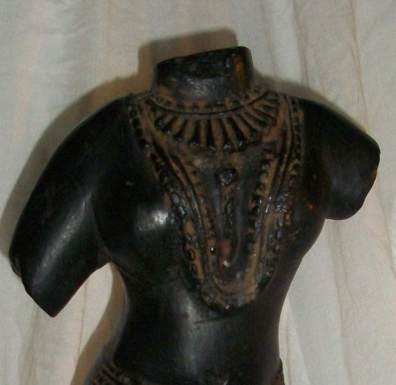 Torso sculpture of Indian Goddess