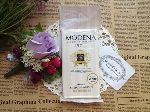 Modena Resin Clay - 250g - Padico Brand (Made in Japan)