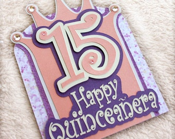 Happy Quinceañera Birthday Card