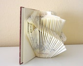 Small Book Sculpture No. 4 - folded book
