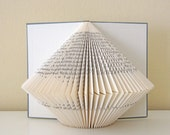Book Sculpture No. 9 - altered Book