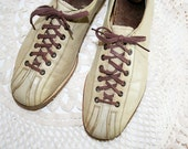 50's Mens Brunswick Bowling Shoes size 8 1/2