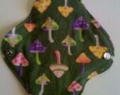 1 Green Mushroom  Cloth Pad