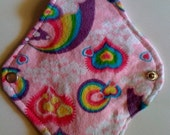 1 Rainbow Hearts  Cloth Pad