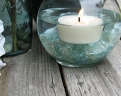 Soy Floating Candles 24 Unscented Dye Free-Large
