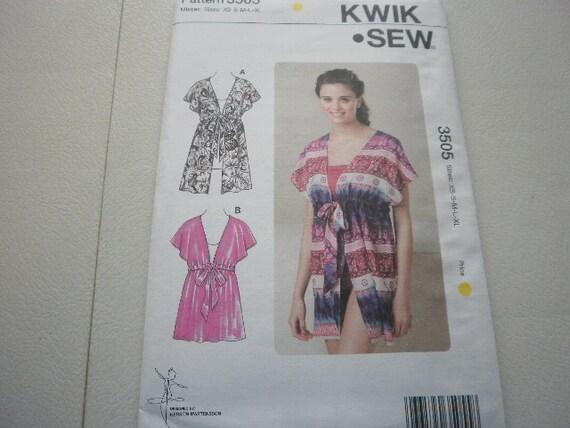 Pattern Ladies Tops Sizes XS to XL OOP  Kwik Sew 3505
