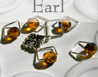 Earl of Grantham, Downton Abbey . . . Stitch Marker Set