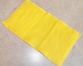 Fleece Swiffer Sweeper Pad- Made to Order- YELLOW