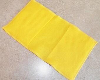Fleece Swiffer Sweeper Pad Refill- Set of 2- YELLOW- 25003