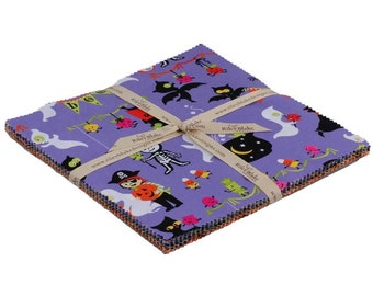 "Costume Clubhouse 10"" squares Stacker by Sherri Berry Designs for Riley Blake, 21 pieces"