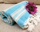 Organic Peshtemal ,Eco Friendly,Natural %100 COTTON,High Quality Hand Woven Turkish Cotton Bath,Beach,Spa,Yoga,Pool Towel