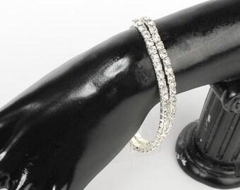 Corsage Bracelet - Glorious Flower Bracelet -10 cm (2 rows) LG Wrist