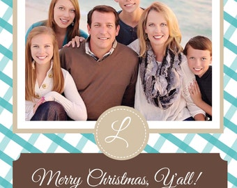 Southern Flare Christmas Card