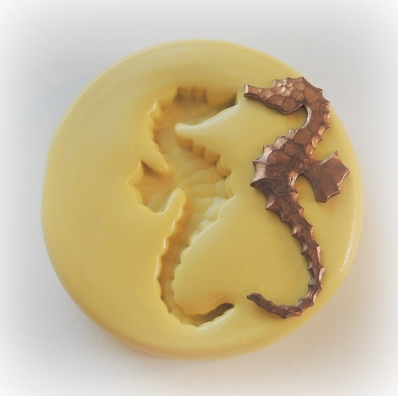 Seahorse mold jewelry diy small clay resin by whysperfairy on etsy