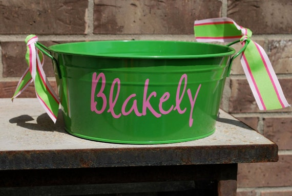 ROUND Bucket Personalized