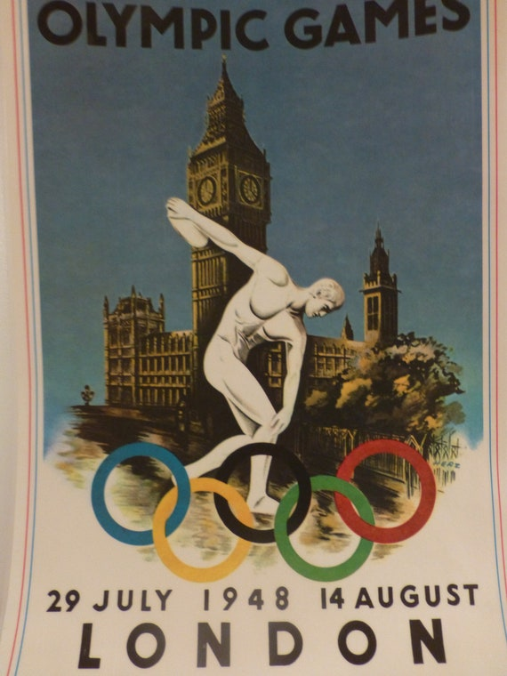 London Summer Olympics Collectible from the Olympic Games - Poster, Placemat, Framed Picture